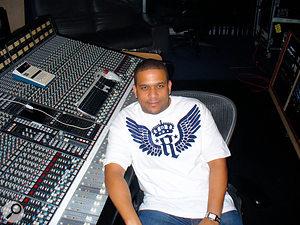 Kevin 'KD' Davis at DARP Studios in Atlanta.
