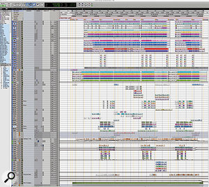 The complete Pro Tools Session for 'Love Song'.