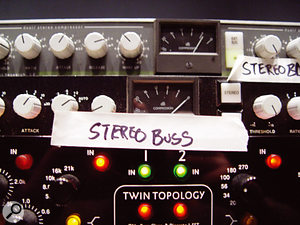Mix processing included Alan Smart C2 compression and EMI TG-series EQ.