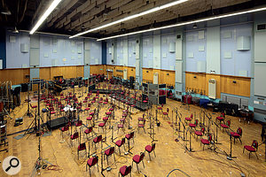 Most of the orchestral recordings used on the soundtrack took place in Abbey Road Studio One.