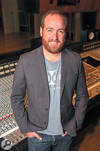 Jesse E String at Henson Studios in LA.