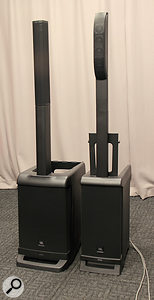 The original Eon One system (left) alongside the new Pro version (right).