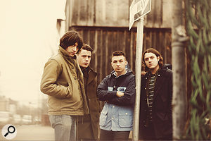 Arctic Monkeys go America: from left, singer and guitarist Alex Turner, guitarist Jamie Cook, drummer Matt Helders and bassist Nick O'Malley.