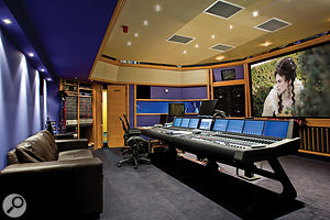 The anthems were mixed on the AMS DFC Gemini desk in AIR Studio 3, with reverb coming from Altiverb within Pro Tools.