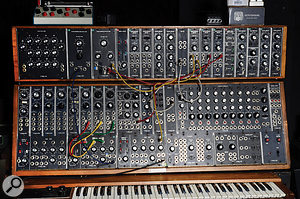 Jean–Michel Jarre's idea of a  'limited' setup probably seems like a  wild dream to most SOS readers! One instrument much used in the making of Electronica was his Moog modular synth.