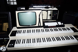 "The Fairlight CMI, says Jarre, still has ""instant style""."