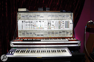 Jean–Michel Jarre says that he was more of an ARP than a  Moog devotee in his early days, and with instruments such as this ARP 2500 modular synth available, who can blame him?