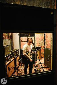 Guitarist Laurie Vincent provides the powerhouse riffs that drive Slaves' music.
