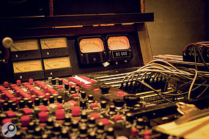 "Fivestar studios is centred around his most prized possession: an MCI JH-416 console, built in 1972 and formerly owned by Shelter Records, home to such diverse artists as JJ Cale, Leon Russell and the Gap Band. ""It's the earliest of all the MCIs,"" Wilson says."
