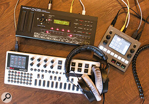 DAWless setups don't need to be huge. Small is beautiful—and portable!