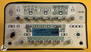 The front panel of the Kemper Profiling Amp.