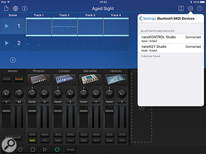 Korg's Gadget has built-in support for the Nano Studio devices on both iOS and Mac.
