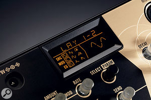 The Volca Drum is the first Volca to have an LCD screen. Good news for anyone curious about what the DSP engine is up to.