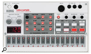 At just 193 x 115 x 45 mm the Volca Sample probably offers the highest knob-per-acre ratio of any hardware sampler.