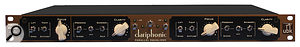 The front panel of the Kush Audio Clariphonic equaliser.