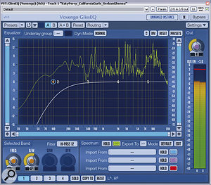 If you don't have access to a very steep high‑pass filter, then you can effectively build one by stacking several filters at the same frequency. For example, the 12dB/octave filter in the left‑hand screenshot can be steepened by piling two more filter instances on top of it (right‑hand screenshot).