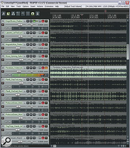 A good way of increasing your objectivity is to compare commercial tracks with your own work within a dedicated DAW project, switching between tracks using the solo buttons and matching subjective loudness using the track faders.
