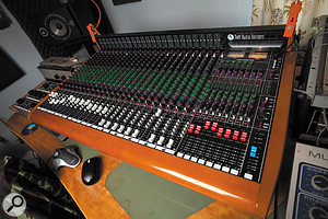 Daniel Boyle chose his Toft desk in part for its six aux sends per channel.