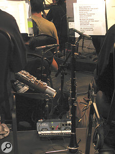 Schoeps CMC5s were also used for the woodwinds.
