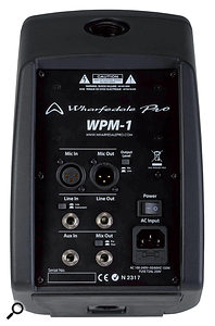 The WP1's input and output options are quite comprehensive.