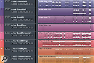 Most DAWs make it relatively easy to create stem tracks from your mixes, and these can be very useful to video editors.