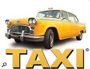 Taxi logo.