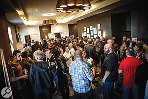 The Production Music Awards: a great place to network.