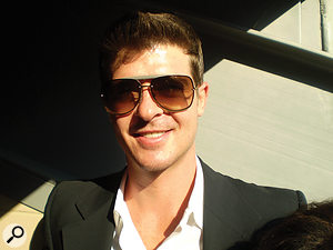 Robin Thicke: not smiling quite so much after the 'Blurred Lines' court case?
