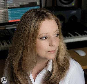 Composer Marie-Anne Fischer.