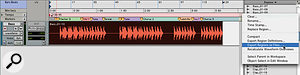 The bass track will be exported as a single file.