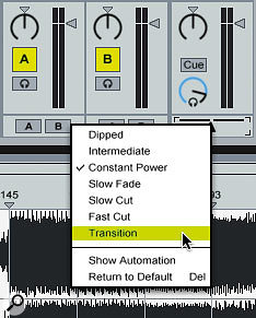Cueing & Crossfading In Ableton Live