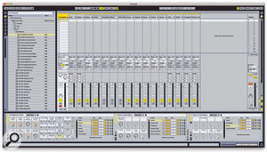The Session Drums library included in the new Ableton Suite includes several multi-miked drum kits for the Drum Rack.