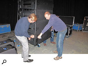 Manufacturer-led training courses offer an excellent way to learn about practical issues such as speaker rigging.