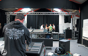 Speaker company Britannia Row also offer training, both in general sound-engineering principles and in the use of specific live-sound equipment.