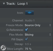 Adjust Slice Length on Slicing Flex Mode to create a  gated effect on a  beat.