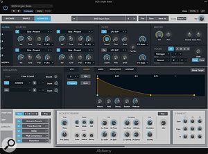 Picture 5 - Add the final polish to your bass patch by adding the some of Alchemy's excellent insert plug-ins.