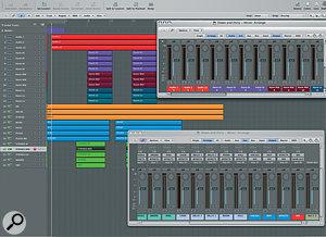 Dynamic Mixing In Logic 8