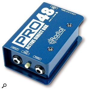 When it comes to live recording, DI boxes are your friends! For bass, you can filter out the lowest frequencies from the amp and add them back in from the DI signal when mixing. In this way you get the character of the amp during the recording, but minimise unwanted vibration of other instruments, such as drums, caused by the low bass.