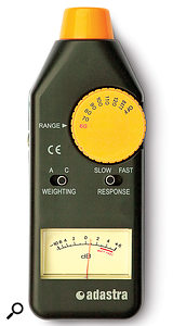 Basic SPL meters are very affordable, and can help you set aconsistent monitoring level, which is essential in making judgements about perceived loudness.