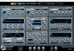 Once the preserve of Pro Tools users, AIR's Hybrid 3 synth is included with the TFP.