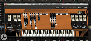 The Tonewheel organ virtual instrument is included but, this aside, you will need to supply your own virtual instrument collection to use within Mixbus 3.