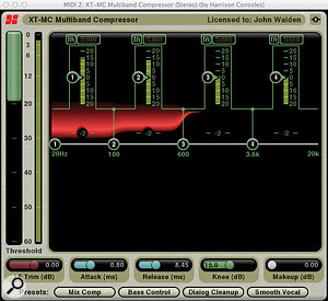 The XT–MC Multiband Compressor is also an interesting take on the genre.