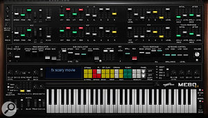 The Yamaha-inspired ME80 synth has received a v2 update.