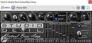 The Studio Devil Virtual Bass Amp plug-in.
