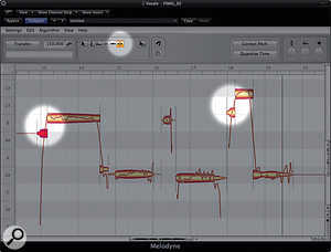 Pitch-correcting Vocals with Melodyne