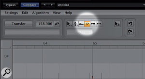 Although best known for its pitch processing, Melodyne includes a number of other useful vocal editing tools.