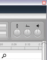 In addition to the in‑editor tools, there are also real‑time Pitch, Formant and Volume controls in the plug‑in version of Melodyne Editor (inset) which can be automated from within your sequencer, as you can see in this screenshot from Steinberg Cubase 5.
