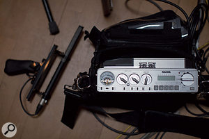 Most of Herbert's field recordings are made using a Nagra V portable hard-disk recorder.