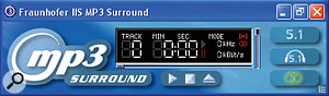 Unlike other surround codecs, MP3 Surround uses 'Binaural Cue Coding', in which the signal is represented as a single mono sum channel plus some difference data that is used to reconstruct the other channels.