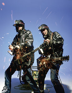 The KLF: pioneering new techniques on electric guitar.